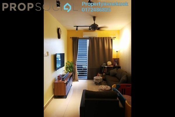 For Sale Condominium at KL Palace Court, Kuchai Lama Freehold Fully Furnished 2R/2B 599k