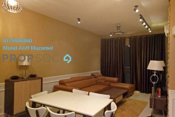 For Rent Condominium at One South, Seri Kembangan Freehold Fully Furnished 3R/2B 3.5k