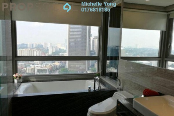 For Sale Serviced Residence at The Sentral Residences, KL Sentral Freehold Fully Furnished 4R/4B 2.7m