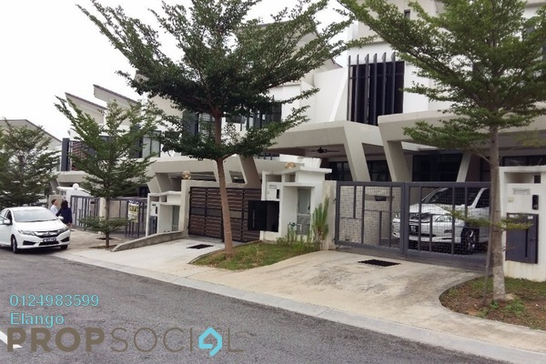 For Rent Terrace at Laman Glenmarie, Saujana Freehold Semi Furnished 4R/4B 2k