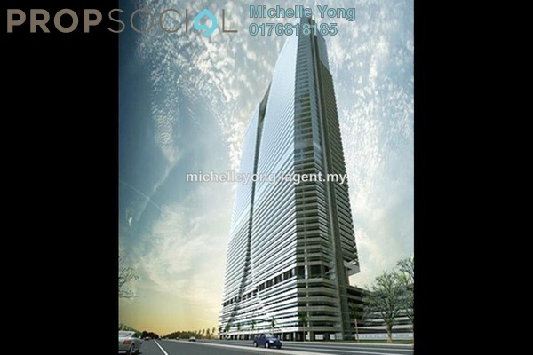 For Sale Office at Q Sentral, KL Sentral Freehold Semi Furnished 1R/1B 3.3m