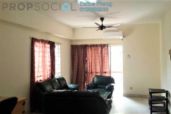 For Rent Condominium at Mentari Condominium, Bandar Sri Permaisuri Freehold Fully Furnished 3R/2B 1.45k