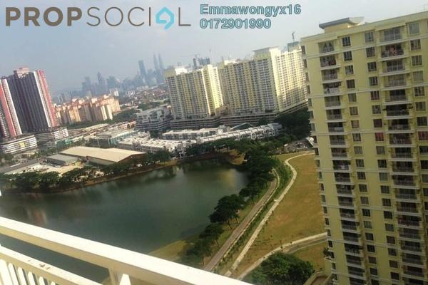 For Rent Condominium at Platinum Lake PV12, Setapak Freehold Fully Furnished 3R/2B 2k
