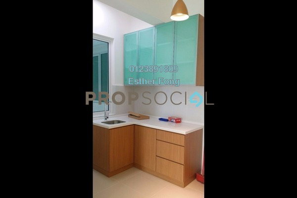 For Rent Condominium at Suria @ North Kiara, Segambut Freehold Semi Furnished 2R/2B 1.6k