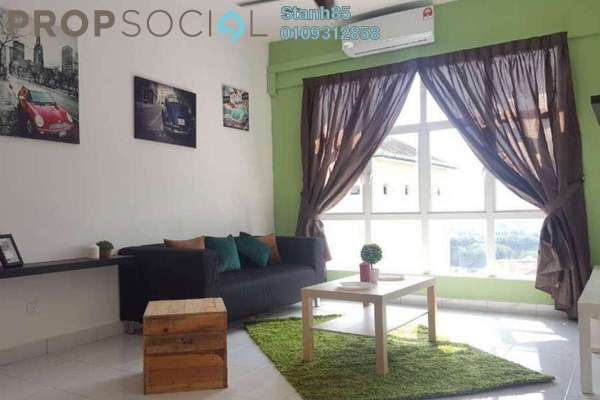 For Rent Condominium at M3 Residency, Gombak Freehold Semi Furnished 3R/2B 1.75k