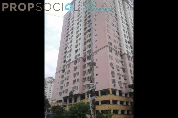 For Rent Condominium at Pelangi Indah, Jalan Ipoh Freehold Semi Furnished 3R/2B 1k
