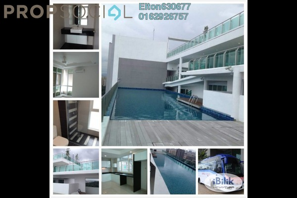 For Sale Condominium at Central Residence, Sungai Besi Freehold Semi Furnished 2R/1B 380k