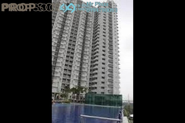 For Rent Apartment at Ocean View Residences, Butterworth Freehold Semi Furnished 3R/2B 1.6k