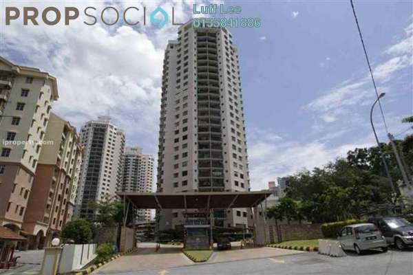 For Sale Condominium at Changkat View, Dutamas Freehold Fully Furnished 3R/2B 680k
