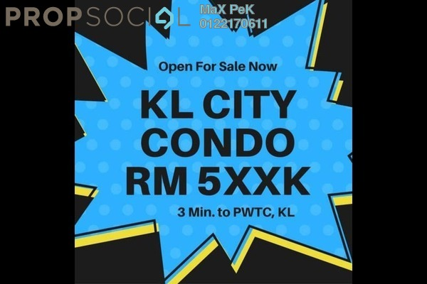 For Sale Condominium at Rica Residence, Sentul Freehold Unfurnished 3R/2B 510k