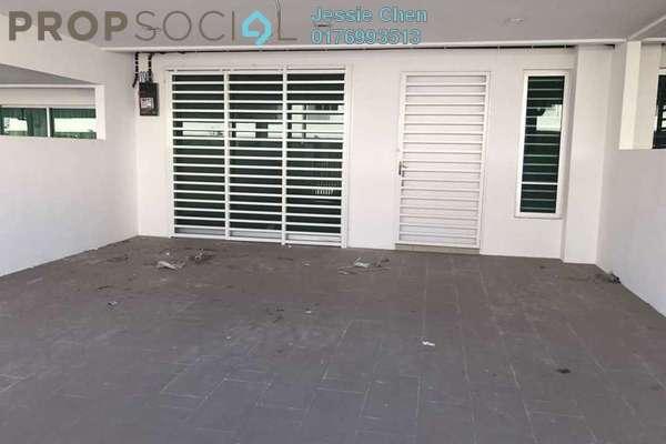 For Rent Terrace at Castora, Bandar Sri Sendayan Freehold Unfurnished 4R/4B 1.3k