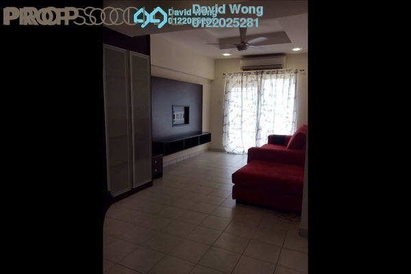 For Rent Apartment at Sri Cempaka Apartment, Kajang Freehold Fully Furnished 3R/2B 1.5k