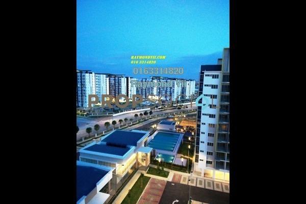 For Sale Apartment at Seri Pinang Apartment, Setia Alam Freehold Unfurnished 3R/2B 288k