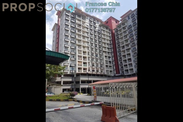 For Sale Apartment at Arena Green, Bukit Jalil Freehold Semi Furnished 2R/1B 308k
