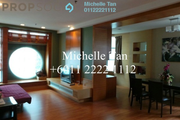 For Sale Condominium at Park View, KLCC Freehold Fully Furnished 1R/2B 840k