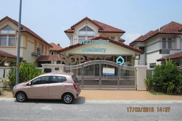 For Sale Bungalow at Taman Aman Perdana, Meru Freehold Fully Furnished 5R/3B 990k