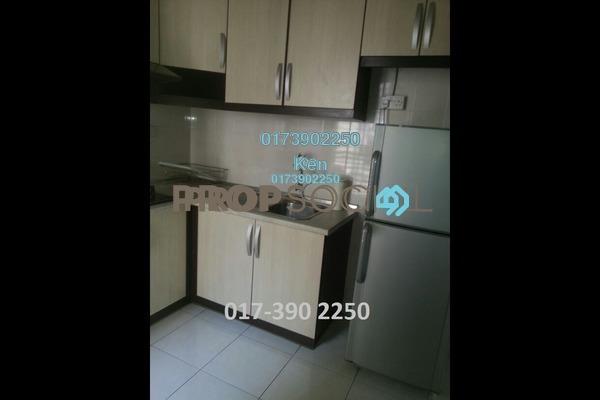 For Rent Serviced Residence at Casa Tiara, Subang Jaya Freehold Fully Furnished 3R/2B 2.2k
