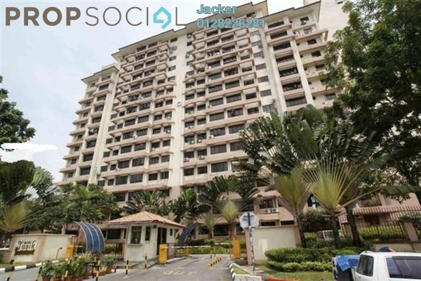 For Rent Condominium at Bayu Tasik 1, Bandar Sri Permaisuri Freehold Unfurnished 3R/2B 1.4k