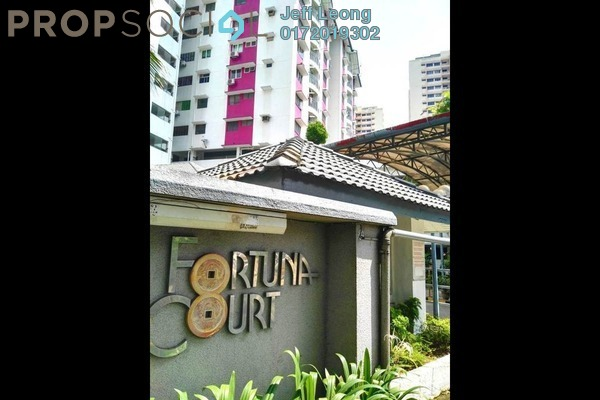 For Rent Condominium at Fortuna Court, Old Klang Road Freehold Fully Furnished 3R/2B 1.5k