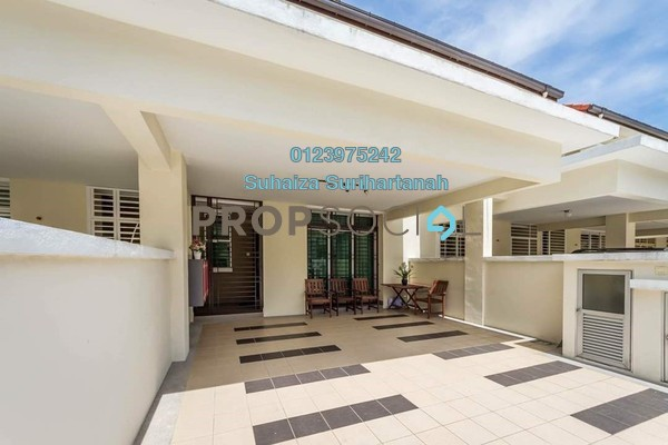 For Sale Terrace at Precinct 14, Putrajaya Freehold Semi Furnished 4R/3B 960k