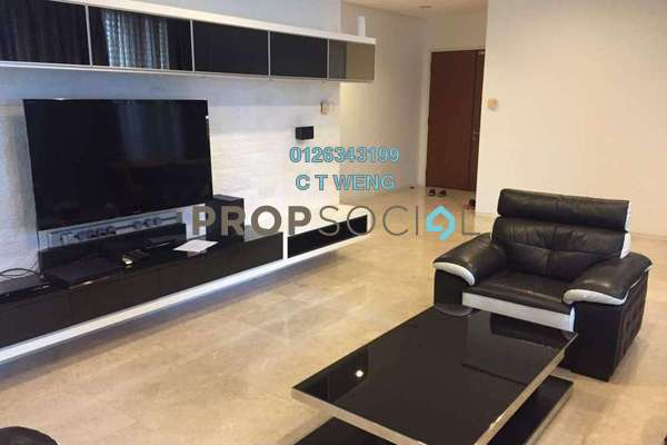 For Rent Condominium at K Residence, KLCC Freehold Fully Furnished 4R/5B 9.3k