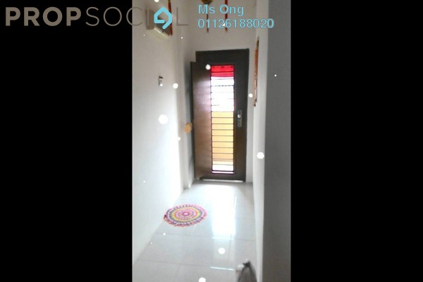 For Sale Apartment at Ria Apartment, Kepong Freehold Semi Furnished 3R/2B 320k