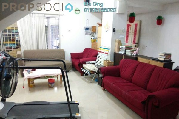 For Sale Terrace at SD12, Bandar Sri Damansara Freehold Semi Furnished 4R/3B 945k