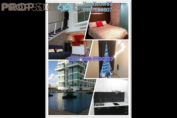 For Rent Condominium at The Scott Garden, Old Klang Road Freehold Fully Furnished 1R/2B 1.8k