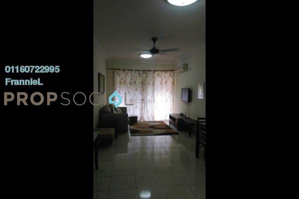 For Rent Condominium at BP10, Bandar Bukit Puchong Freehold Fully Furnished 3R/2B 1.3k