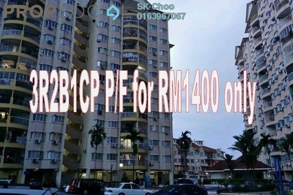 For Rent Apartment at Pandan Utama, Pandan Indah Freehold Semi Furnished 3R/2B 1.4k