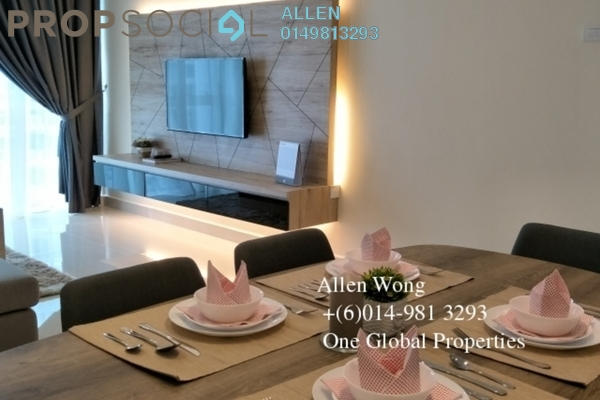 For Rent Condominium at Medini Signature, Medini Leasehold Fully Furnished 2R/2B 3k