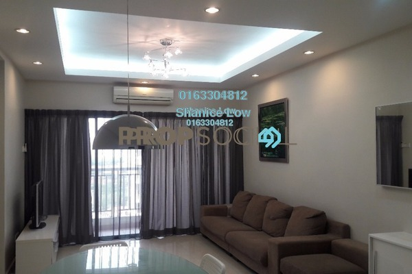 For Rent Condominium at Pelangi Utama, Bandar Utama Freehold Fully Furnished 3R/2B 2k