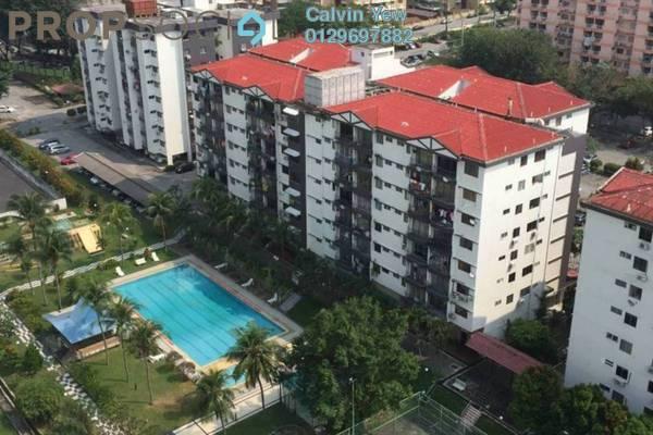For Rent Condominium at Brem Park, Kuchai Lama Freehold Semi Furnished 3R/2B 1.2k
