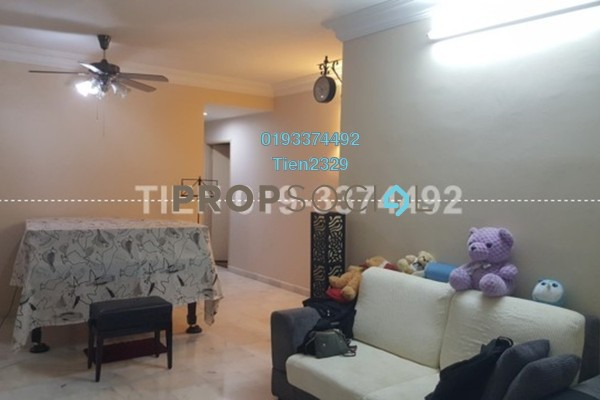 For Rent Apartment at Seri Puri, Kepong Freehold Semi Furnished 3R/2B 1.45k