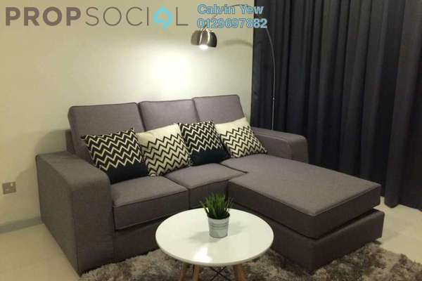 For Rent Condominium at Suasana Sentral Loft, KL Sentral Freehold Fully Furnished 1R/2B 4.5k