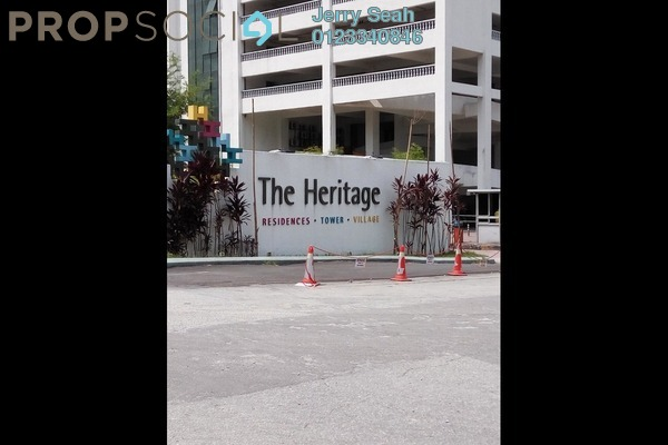 For Sale Serviced Residence at The Heritage, Seri Kembangan Freehold Fully Furnished 2R/2B 410k