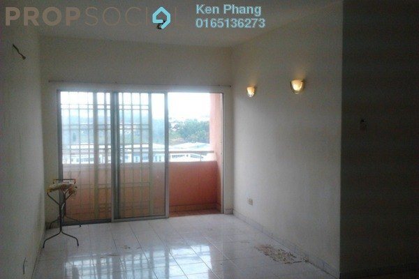 For Rent Condominium at Sutramas, Bandar Puchong Jaya Freehold Semi Furnished 3R/2B 1.1k