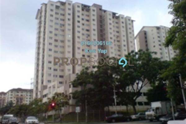 For Sale Condominium at Danau Murni, Taman Desa Freehold Semi Furnished 3R/2B 350k