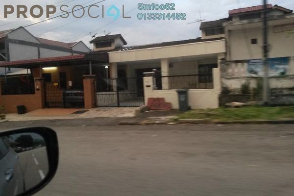 For Rent Terrace at Taman Bunga Raya, Setapak Freehold Unfurnished 5R/2B 1.5k