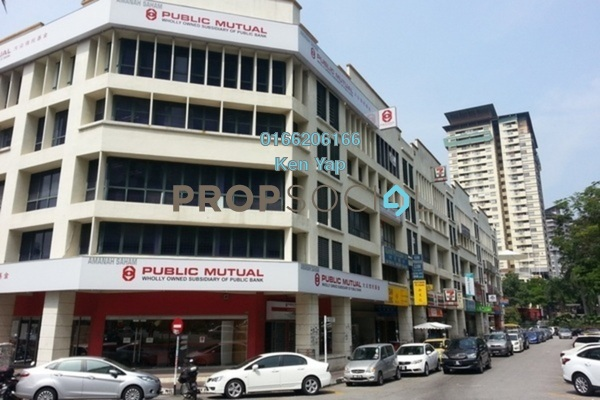 For Sale Office at Perdana Business Centre, Damansara Perdana Freehold Semi Furnished 0R/2B 528k