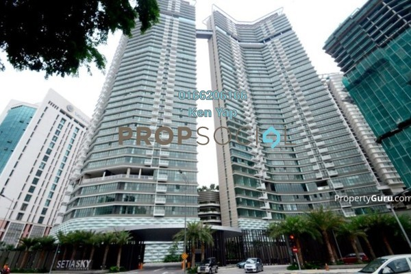 For Sale Condominium at Setia Sky Residences, KLCC Freehold Fully Furnished 1R/1B 895k