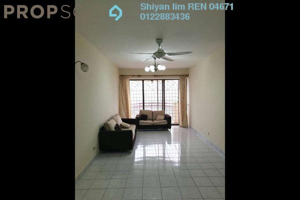 For Rent Condominium at Villa Angsana, Jalan Ipoh Freehold Semi Furnished 3R/2B 1.65k