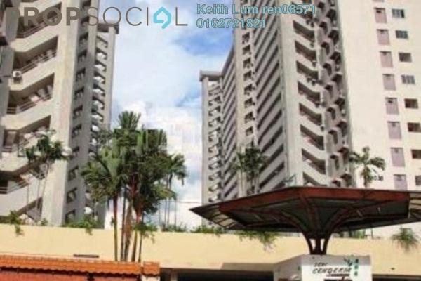 For Sale Condominium at Seri Cendekia Apartment, Cheras Freehold Fully Furnished 3R/2B 378k