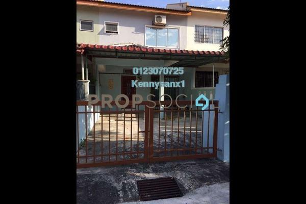 For Rent Terrace at Taman Pinggiran Putra, Bandar Putra Permai Freehold Semi Furnished 4R/3B 1.2k