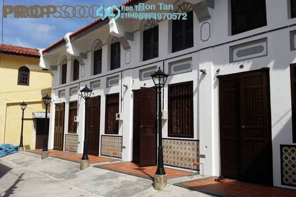 For Sale Terrace at Lebuh Melayu, Georgetown Freehold Semi Furnished 4R/4B 4.38m