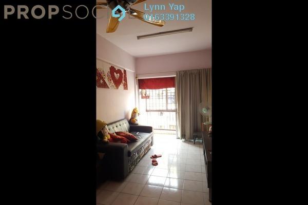 For Sale Apartment at Villa Sentosa, Klang Freehold Semi Furnished 3R/2B 110k