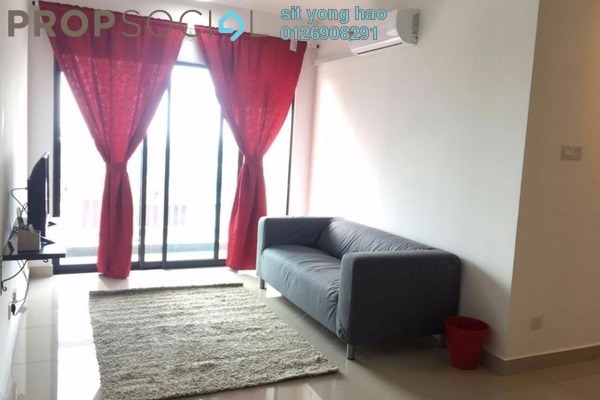 For Rent Serviced Residence at Alam Sanjung, Shah Alam Freehold Fully Furnished 3R/2B 1.5k