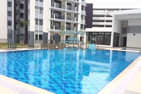For Rent Condominium at Tamara, Putrajaya Freehold Semi Furnished 3R/2B 1.8k