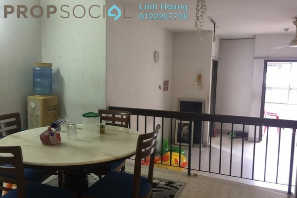 For Rent Condominium at Sea Park Apartment, Petaling Jaya Freehold Semi Furnished 2R/1B 1.3k