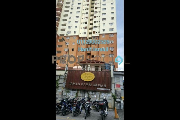 For Sale Apartment at Damai Mewah B Apartment, Kajang Freehold Semi Furnished 3R/2B 270k